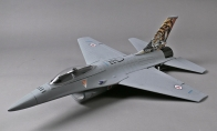 3 CH BlitzRCWorks Gray Mini F-16 RC EDF Jet KIT