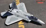 3 CH BlitzRCWorks Mini F-22 Raptor RC EDF Jet KIT