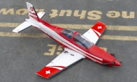 3 CH BlitzRCWorks Mini Pocket Rocket PC-21 V2 w/ Gyro RC Sport Airplane ARF