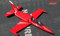 3 CH BlitzRCWorks Red Mini L-39 Albatros RC EDF Jet KIT