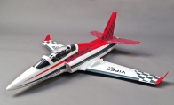 3 CH BlitzRCWorks Red Mini Viper RC EDF Jet KIT