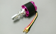 3536-900KV Brushless Motor for BlitzRCWorks 5 CH Red Sky Trainer N9258 w/ Flaps 1400mm RC Trainer Airplane