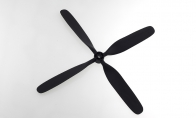 4-Blade Propeller for BLITZRCWORKS 5 CH Pilatus PC-9 1200mm RC Warbird Airplane