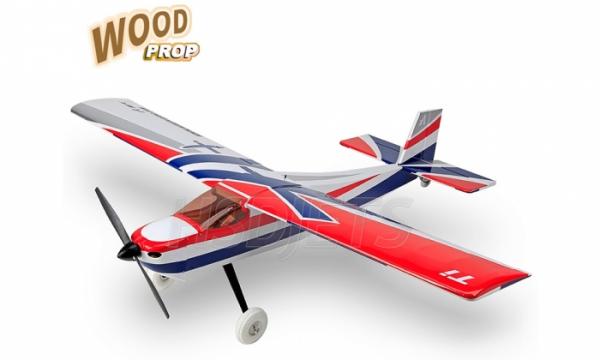 4 Ch Aeroplus Rc All Wood Titanium Trainer Rc Trainer