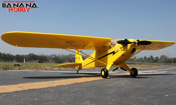 4 Ch Blitzrcworks J 3 Cub Rc Trainer Airplane Radio Controlled J 3 Cub Rc