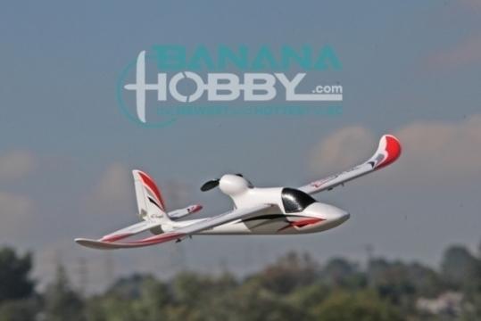 4 CH BlitzRCWorks Mini Sky Surfer V2 RC Sailplane Glider - Radio