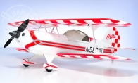 4 CH BlitzRCWorks Pitts Special RC 3D Airplane ARF