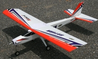 4 CH TechOne Red Saturn 1230mm RC Trainer Airplane ARF