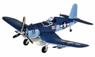 4 CH TopRC Blue Mini F4U Corsair RC Warbird Airplane ARF