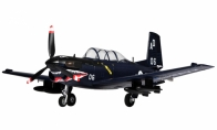 4 CH TopRC Blue Mini T-34 Mentor RC Warbird Airplane ARF