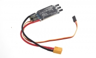 45A Brushless Speed Controller for BlitzRCWorks 6 CH Green Camo 1100mm Supermarine Spitfire Mk24 RC Warbird Airplane