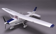 5 CH BlitzRCWorks Blue Sky Trainer G-Kemy w/ Flaps RC Trainer Airplane PNP