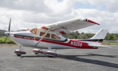5 CH BlitzRCWorks Red Sky Trainer N9258 w/ Flaps 1400mm RC Trainer Airplane RTF