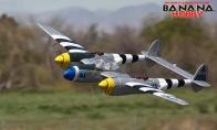 5 CH BlitzRCWorks Silver P-38 Lightning V2 RC Warbird Airplane RTF
