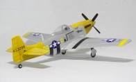 5 CH Sky Flight Hobby Yellow P-51D Mustang 1200mm RC Warbird Airplane RTF
