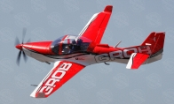 6 CH BlitzRCWorks Red Giant Grob G 120TP 1700mm RC Trainer Airplane RTF
