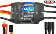 Genesis Power Blizzard Series 12A Programmable Brushless ESC w/ BEC 5V/1A