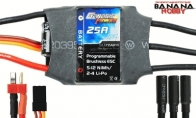 Genesis Power Blizzard Series 25A Programmable Brushless ESC w/ BEC 5V/2A