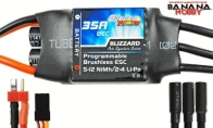 Genesis Power Blizzard Series 35A Programmable Brushless ESC w/ BEC 5V/3A