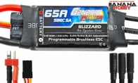 Genesis Power Blizzard Series 65A Programmable Brushless ESC w/ SBEC 5A