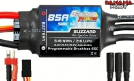 Genesis Power Blizzard Series 85A Programmable Brushless ESC w/ SBEC 5A