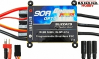 Genesis Power Blizzard Series 90A OPTO Programmable Brushless ESC