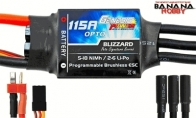Genesis Power Blizzard Series 115A OPTO Programmable Brushless ESC