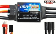 Genesis Power Blizzard Series 115A Programmable Brushless ESC w/ SBEC 5A