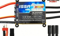 Genesis Power Blizzard Series 155A Programmable Brushless ESC w/ SBEC 5A