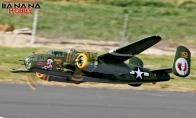 8 CH BlitzRCWorks Super B-25 Mitchell Bomber RC Warbird Airplane ARF
