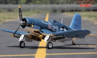 8 CH BlitzRCWorks Super F4U Corsair V2 RC Warbird Airplane KIT