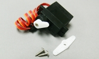 9g Reverse Servo for BlitzRCWorks 5 CH Red Sky Trainer N9258 w/ Flaps RC Trainer Airplane