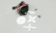 9g Reverse Servo for Flap L=250mm for BlitzRCWorks 5 CH Sky Surfer V5 RC Sailplane Glider