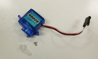 9g Reverse Servo (L:60mm) for Nose Gear for HSDJETS 4 CH Blue J-10 Vigorous Dragon 75mm RC EDF Jet