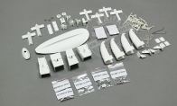 Accessory parts pack for BlitzRCWorks 5 CH Sky Surfer V5 RC Sailplane Glider