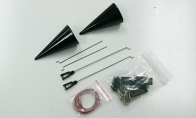 Accessory parts pack for BlitzRCWorks 6 CH SR-71 Blackbird V2 RC EDF Jet