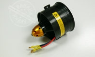 Balanced 4S Brushless motor with 75mm EDF Set for HSDJETS 4 CH Red Checker Viper 75mm RC EDF Jet