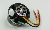 Balanced Brushless Motor and 50mm EDF Unit for BlitzRCWorks 3 CH Red Mini Viper RC EDF Jet