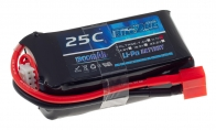 BlitzRCWorks 11.1V 1300mAh 25C LiPo Battery for BlitzRCWorks 3 CH Green Mini Vektor w/ Gyro RC EDF Jet