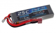 BlitzRCWorks 11.1V 2200mAh 25C LiPo Battery for Air Epic 5 CH Red Sky Trainer G-Kemy w/ Flaps 1400mm RC Trainer Airplane