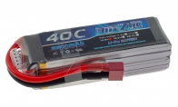 BlitzRCWorks 14.8V 2200mAh 40C LiPo Battery for BlitzRCWorks 4 CH Yellow Giant J-3 Cub RC Trainer Airplane