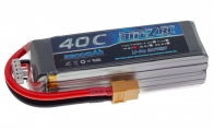 BlitzRCWorks 14.8V 2200mAh 40C LiPo Battery (XT-60 Connector) for BlitzRCWorks 4 CH Green Giant J-3 Cub RC Trainer Airplane