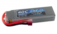 BlitzRCWorks 14.8V 2600mAh 40C LiPo Battery for HSDJETS 6 CH Green Zero Fighter RC Warbird Airplane