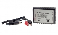 BlitzRCWorks 2~3S Li-Po Balance Charger w/ Alligator Charging Clips for BlitzRCWorks 3 CH Red Mini Mig-15 V2 w/ Gyro RC EDF Jet
