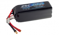 BlitzRCWorks 22.2V 4000mAh 25C (Banana connector) LiPo Battery for BlitzRCWorks 7 CH YF-23 RC EDF Jet
