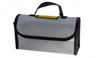 BlitzRCWorks Li-Po Guard/Safety Charging Bag (220x100x75mm) for BlitzRCWorks 3 CH Silver Mini Mig-15 V2 w/ Gyro RC EDF Jet