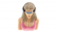 BlitzRCWorks Pilot Figure - Female 60mm(H) x 50mm(W) for HSDJETS 4 CH Blue Furious 200 RC Sport Airplane