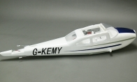 Blue Fuselage for BlitzRCWorks 5 CH Blue Sky Trainer G-Kemy w/ Flaps RC Trainer Airplane