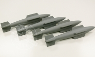 Bomb Set for BlitzRCWorks 12 CH Super F-22 Raptor RC EDF Jet
