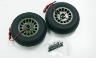 Brake Set w/o Wheel for BlitzRCWorks 8 CH Super B-25 Mitchell Bomber RC Warbird Airplane